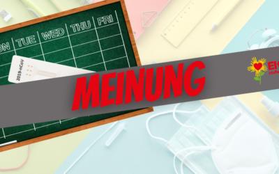 Testpflicht für Schüler bis zum Sankt-Nimmerleins-Tag?